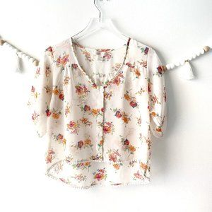 Band of Gypsies Floral Blouse